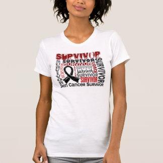 Survivor 10 Skin Cancer Tee Shirts