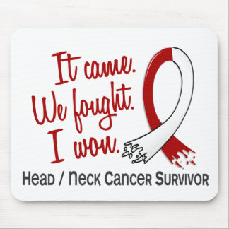 Survivor 11 Head And Neck Cancer Mouse Pads