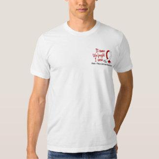 Survivor 11 Head And Neck Cancer T Shirts