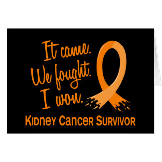 Survivor 11 Kidney Cancer Greeting Cards