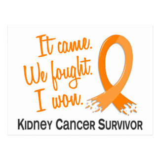 Survivor 11 Kidney Cancer Post Cards