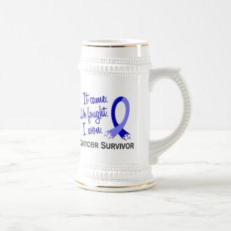 Survivor 11 Rectal Cancer Coffee Mugs