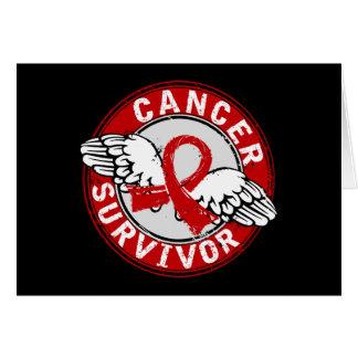 Survivor 14 Blood Cancer Greeting Card