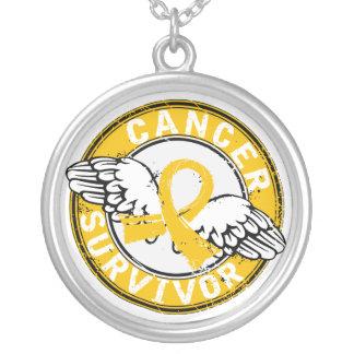 Survivor 14 Childhood Cancer Custom Necklace