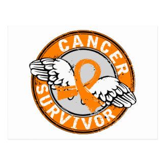 Survivor 14 Kidney Cancer Postcard