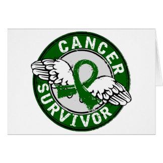 Survivor 14 Liver Cancer Greeting Card