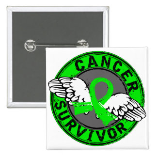 Survivor 14 Non-Hodgkin's Lymphoma 15 Cm Square Badge