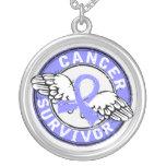 Survivor 14 Prostate Cancer Custom Necklace