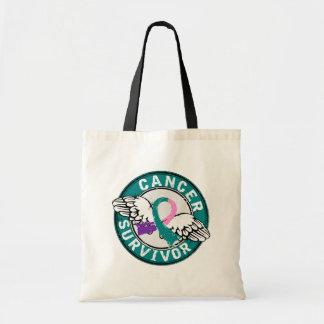 Survivor 14 Thyroid Cancer Tote Bag