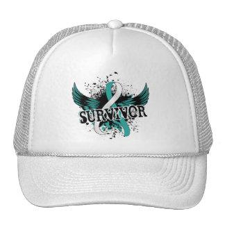 Survivor 16 Cervical Cancer Trucker Hat