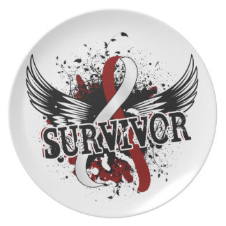 Survivor 16 Head and Neck Cancer Dinner Plate