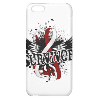 Survivor 16 Head and Neck Cancer Case For iPhone 5C