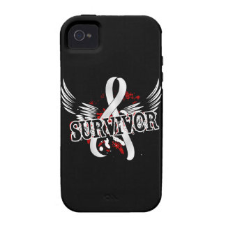 Survivor 16 Lung Cancer iPhone 4/4S Cover