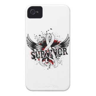 Survivor 16 Lung Cancer iPhone 4 Cover