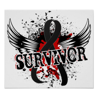 Survivor 16 Melanoma Print