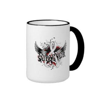 Survivor 16 Mesothelioma Ringer Mug