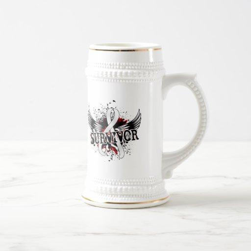 Survivor 16 Mesothelioma Coffee Mug