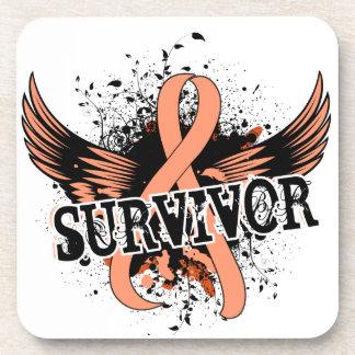 Survivor 16 Uterine Cancer Coaster