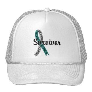 Survivor 17 Cervical Cancer Cap