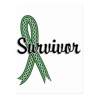 Survivor 17 Liver Cancer Postcard
