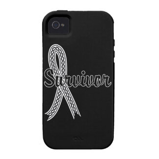 Survivor 17 Lung Cancer iPhone 4/4S Cases