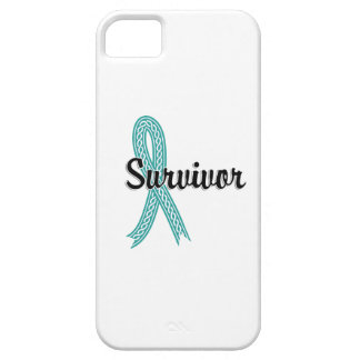 Survivor 17 Peritoneal Cancer iPhone 5 Case