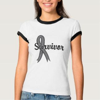 Survivor 17 Skin Cancer T-shirt