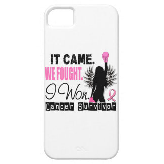 Survivor 22 Breast Cancer iPhone 5 Case