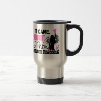 Survivor 22 Breast Cancer Mug