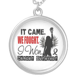 Survivor 22 Melanoma Custom Necklace