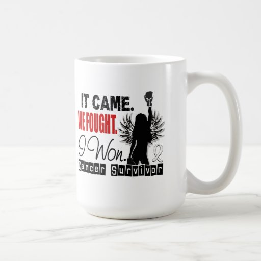 Survivor 22 Mesothelioma Mug