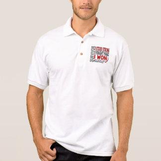Survivor 4 Head Neck Cancer Polo Shirt