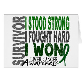 Survivor 4 Liver Cancer Cards