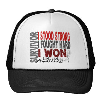 Survivor 4 Lung Cancer Cap