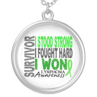 Survivor 4 Lymphoma Necklace