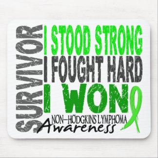 Survivor 4 Lymphoma Non-Hodgkin s Mouse Pad