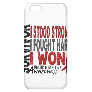 Survivor 4 Multiple Myeloma iPhone 5C Cases