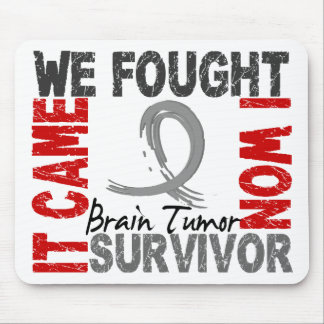 Survivor 5 Brain Tumor Mouse Mat