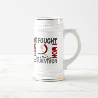Survivor 5 Head Neck Cancer Mug