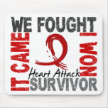 Survivor 5 Heart Attack Mouse Pad