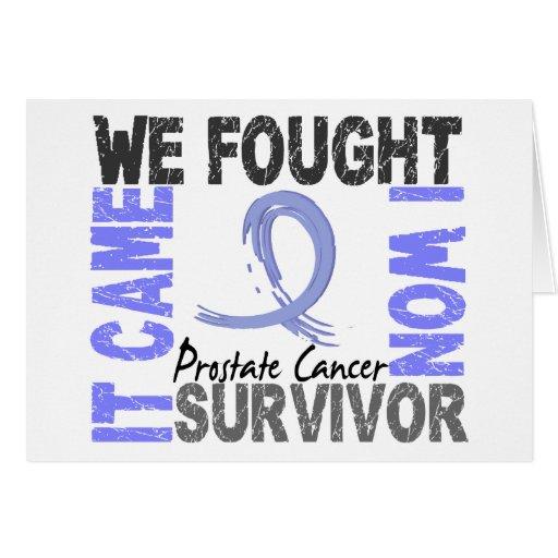 Survivor 5 Prostate Cancer Greeting Cards