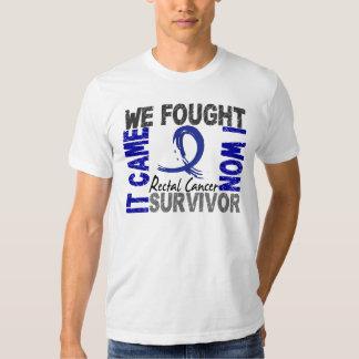 Survivor 5 Rectal Cancer Tshirt