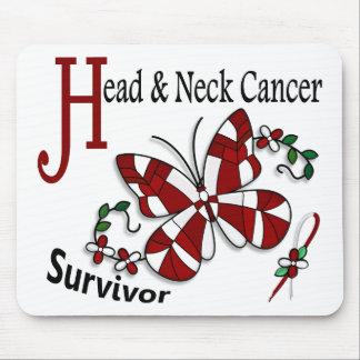 Survivor 6 Head Neck Cancer Mouse Pads
