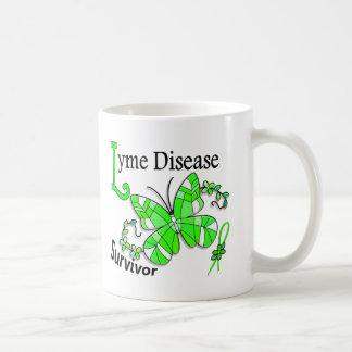 Survivor 6 Lyme Disease Basic White Mug