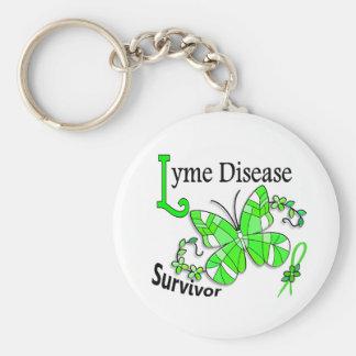 Survivor 6 Lyme Disease Key Chain