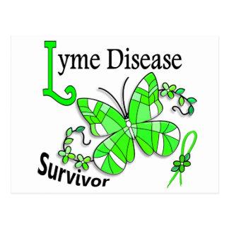 Survivor 6 Lyme Disease Postcard