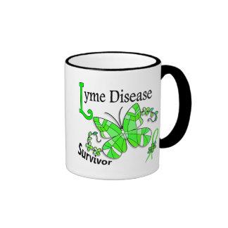 Survivor 6 Lyme Disease Ringer Mug