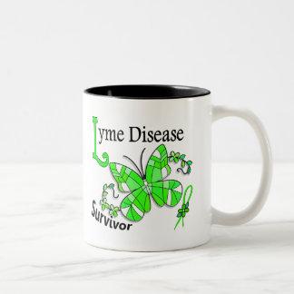 Survivor 6 Lyme Disease Two-Tone Mug