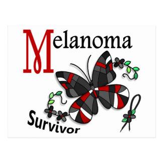 Survivor 6 Melanoma Postcard