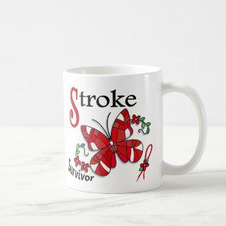 Survivor 6 Stroke Basic White Mug